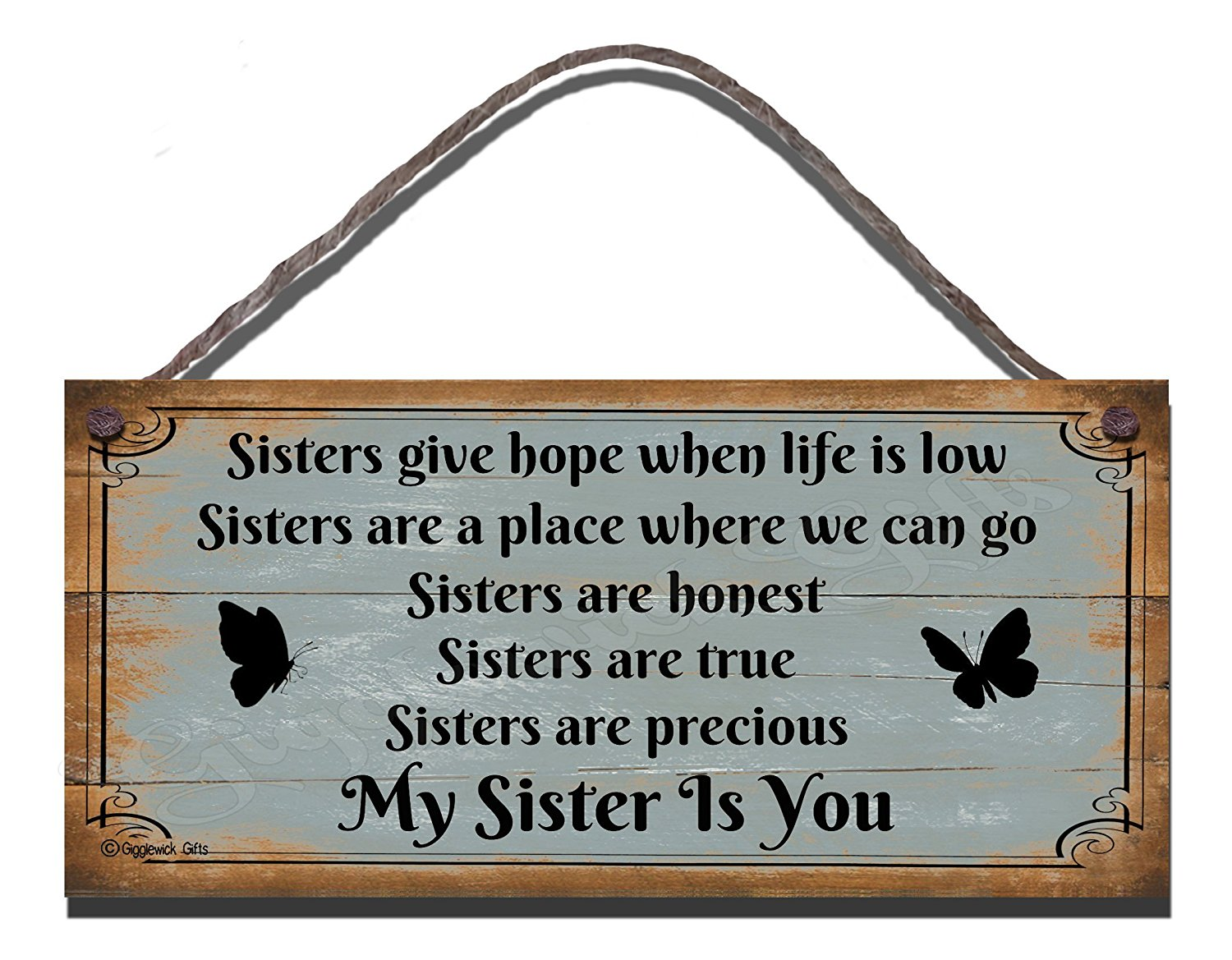 Sisters Give Hope