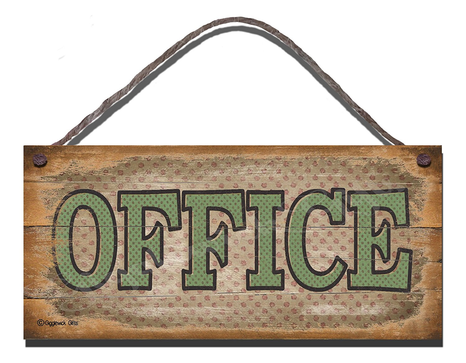 Office Sign Rustic